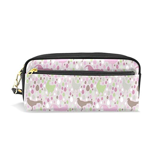 Colorful Rooster And EggConvenient small cosmetic bag, stylish casual style, suitable for all occasions, travel essentials. -