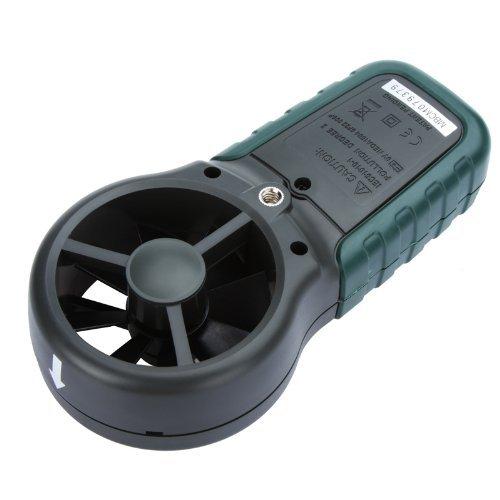 Mastech MS6252A An/émom/ètre num/érique portable Compteur de vitesse du vent Testeur denvironnement avec graphique /à barres