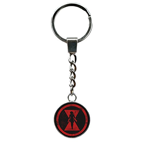 Athena Brand Black Widow Marvel Comics Key Ring Keychain for House Boat Auto Keys