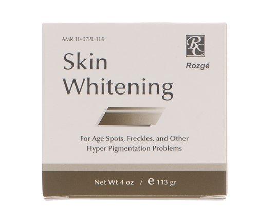 Rozge Skin Whitening Cream with 2% Hydroquinone, 4 oz