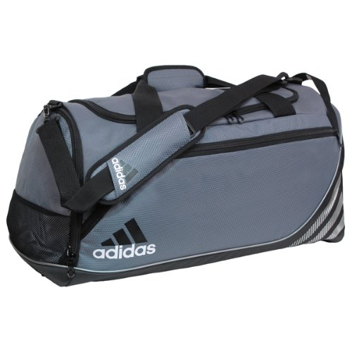 adidas Team Speed Small Duffel Bag, Lead