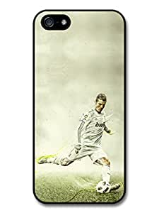 Cristiano Ronaldo Shooting Real Madrid CF Football case for iPhone 5 5S A155 by runtopwell