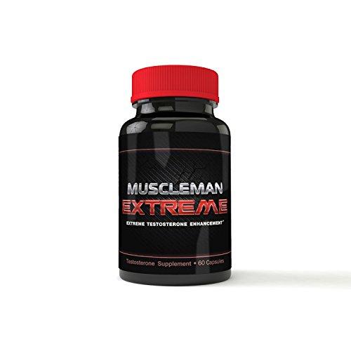 Muscleman extrême - extrême testostérone Booster - Premium-composé de l'oxyde nitrique - Muscle pilules pour hommes - Muscle pilules pour être dupé - formule Performance masculine - extrêmes résultats garantis!