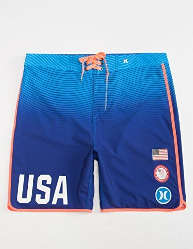 Hurley US Olympic Blue 38 Mens ()
