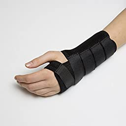 Calibre QT Wrist Support, Instant relief for Carpal Tunnel and Tendonitis. Don't let wrist pain get in the way of your hobbies and tasks! (Medium Left)