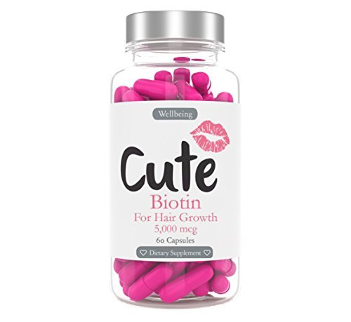 Biotin for Hair Growth - Natural Supplement for Healthy Hair, Skin and Nails - with Calcium for Strong Teeth and Bones - Specially Formulated for Women to Help You Look and Feel Your Best