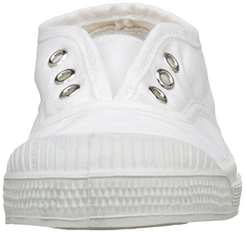 Bensimon Tennis Elly Enfant, Unisex-Kinder Hohe Sneakers Weiß (Blanc)