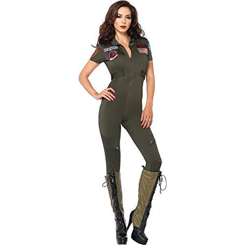 (Leg Avenue Women's Top Gun Flight Suit)