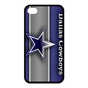Custom Dallas Cowboys NFL Series Back Cover Case for iphone 4,4S JN4S-1409
