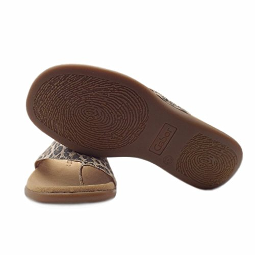 Gabor Ladies Jollys Mules, Multicolore Natural (10)