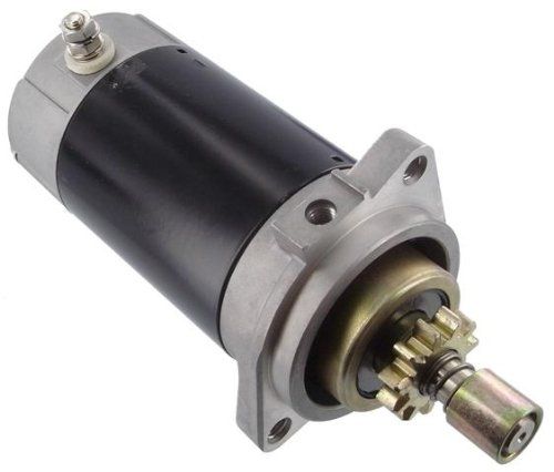 Discount Starter and Alternator New Replacement Starter Fits Mariner Marine Outboard Engines, Mercury Marine Outboard Engines, Yamaha Marine Outboard Engines, Many Models