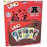 UNO AFC Football Special Edition Card Game in Tin Box