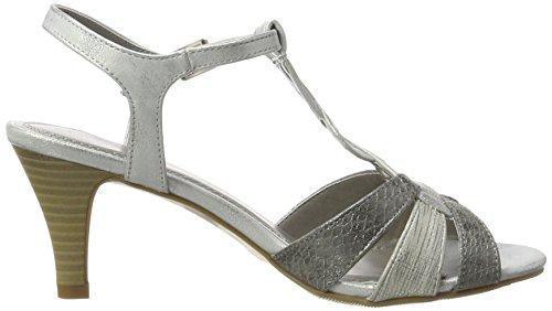 Mujer silver Jane Klain Sandalias plateado 763 283 wzxzZHIqF