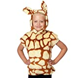 Charlie Crow Giraffe Costume for kids. One Size 3-9 Years.