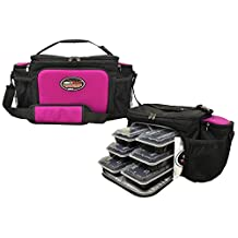Isobag 6 Meal System (Fuchsia/Black)