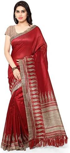 Rajnandini Womens Ethnic Tussar Printed product image