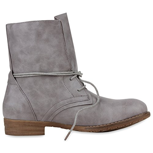 napoli-fashion - Botas clásicas Mujer gris