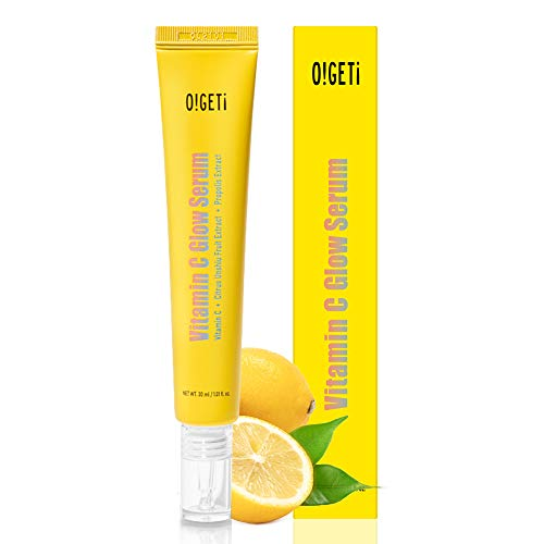 O!GETi Vitamin C Serum – 30ml/1.01 Fl.Oz 99% Pure Vitamin C & Tangerine Extract & Propolis Extract For Healthier Looking Skin, Korean Skin Care Starter Item, Cruelty-free, Paraben-free