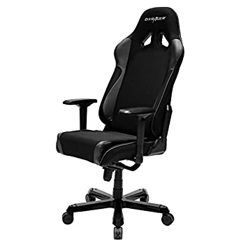 DXRacer Sentinel Series OH SJ11 N Racing ERGO Seat Office Chair Gaming Ergonomic Included Head Lumbar Support Pillows Black