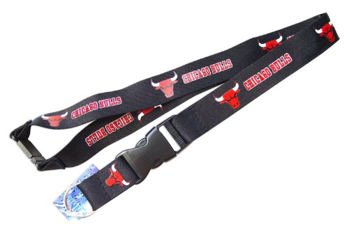 - aminco NCAA Chicago Bulls NBA-LN-095-10-BK Team Lanyard, One Size, Multicolor
