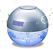 Gutwaren H2O Water SPA Water Based air Purifier ultrasonic Aroma Diffuser 1000ML Air Fresher Anion Plus Colorf