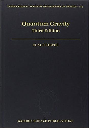 QUANTUM GRAVITY KIEFER PDF
