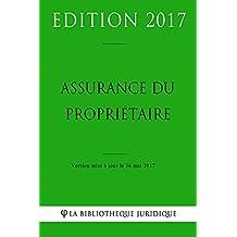 Assurance du propriétaire (French Edition)