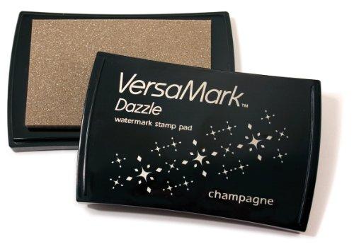 - Tsukineko Full-Size VersaMark Dazzle Pigment Inkpad, Antique Sparkle