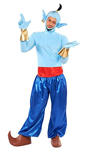Disney Aladdin Genie Costume Teen/Men's STD (XS/S Size) ()