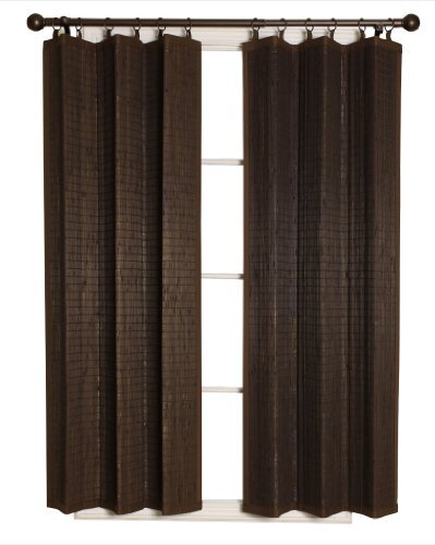 Bamboo Ring Top Curtain BRP064063-93 Panel, 40