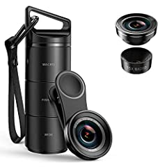 [NOTE]: ★★★All lenses can't change the pixels of the device itself. For example, if your mobile phone is very old version, and the pixel itself is very low. Using this lens can't solve the pixel in essence. [Operation Guide]: [When use wide ...