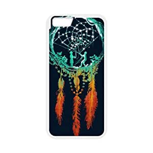 iPhone 6 4.7 Inch Cell Phone Case White Dreamcatcher ZAI Hard 3D Cell Phone Case