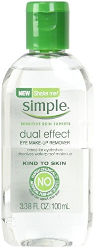 Simple Dual Effect Eye Make-Up Remover  LOT OF 3 X 3.38 OZ B