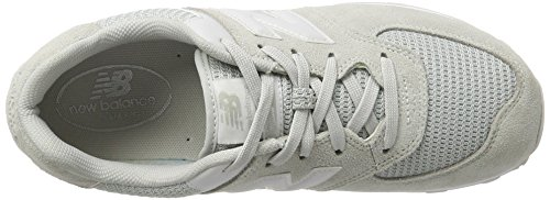 New Balance NB, Zapatillas Unisex Adulto Gris (Grey/white)