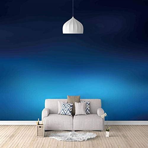 3D壁紙ポスター カスタム大規模な壁紙の壁紙3Dテレビの背景リビングルームの写真の壁紙3Dルームの壁紙 - ブルーファンタジー星空-350X250cm (137*98inch)