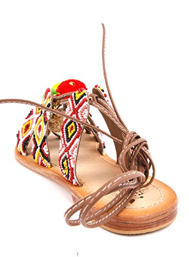 apple of eden Sandalen Amar Cognac
