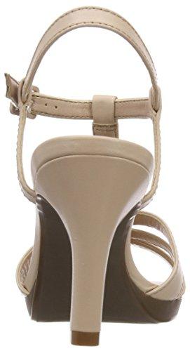 Clarks Ladies Adriel Tevis Sandali Con Cinturino Beige (nudo)