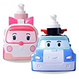 Robocar Poli and Amber Baby & Kids Traditional Herb Shampoo and Wash All in One Set 2 Bottles 24.34 oz