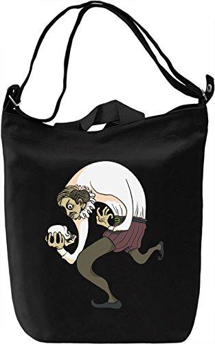 Author Borsa Giornaliera Canvas Canvas Day Bag| 100% Premium Cotton Canvas| DTG Printing|