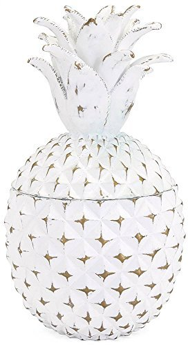 Imax Lidded Box - Imax Brianna Small Pineapple Box Wall Sconce