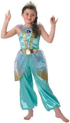 Rubies Glitter Jasmine - Disney Childrens Disfraz - Grande - 128cm ...