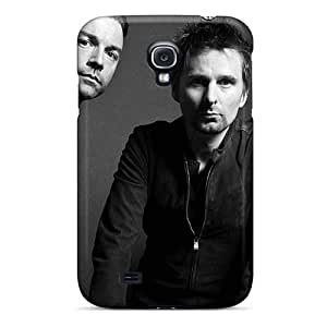 KevinCormack Samsung Galaxy S4 Scratch Protection Phone Cases Allow Personal Design HD Muse Band Skin [nRb9646GOcN]