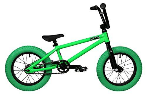 "DK Bikes DK Aura 14"" Complete BMX Bike Green"