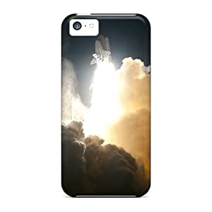 Kristyjoy99 Shockproof Scratcheproof Nasa Space Shuttle Taking Off Hard Cases Covers For Iphone 5c