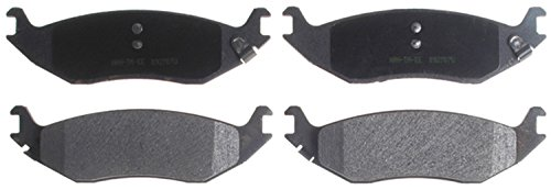 Dodge Brake Pad Sensor (ACDelco 14D898M Advantage Semi-Metallic Rear Disc Brake Pad Set with Wear)