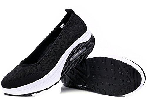 Zicoope Women's Athletic Casual Slip-On Toning Sneaker Walking Shoe