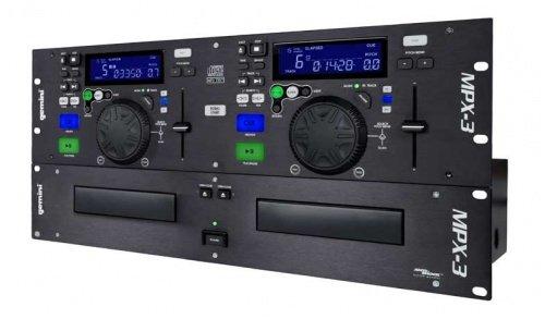 Amazon.com: Gemini mpx-3 doble reproductor de CD/MP3 ...