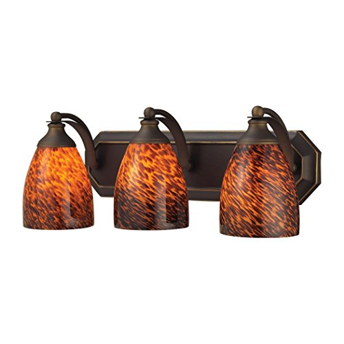Elk Lighting Bath and Spa 3 Light Vanity Light in Aged Bronze by Elk Lighting (Image #1)