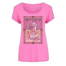 Janis Joplin T Shirt Avalon Ballroom 67 Official Womens Skinny Fit scoop neck