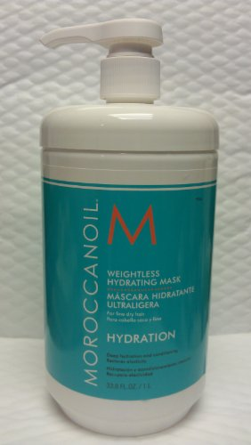 Moroccanoil Weightless Hydrating Mask 33.8 oz (Hydrating Moroccanoil Mask)